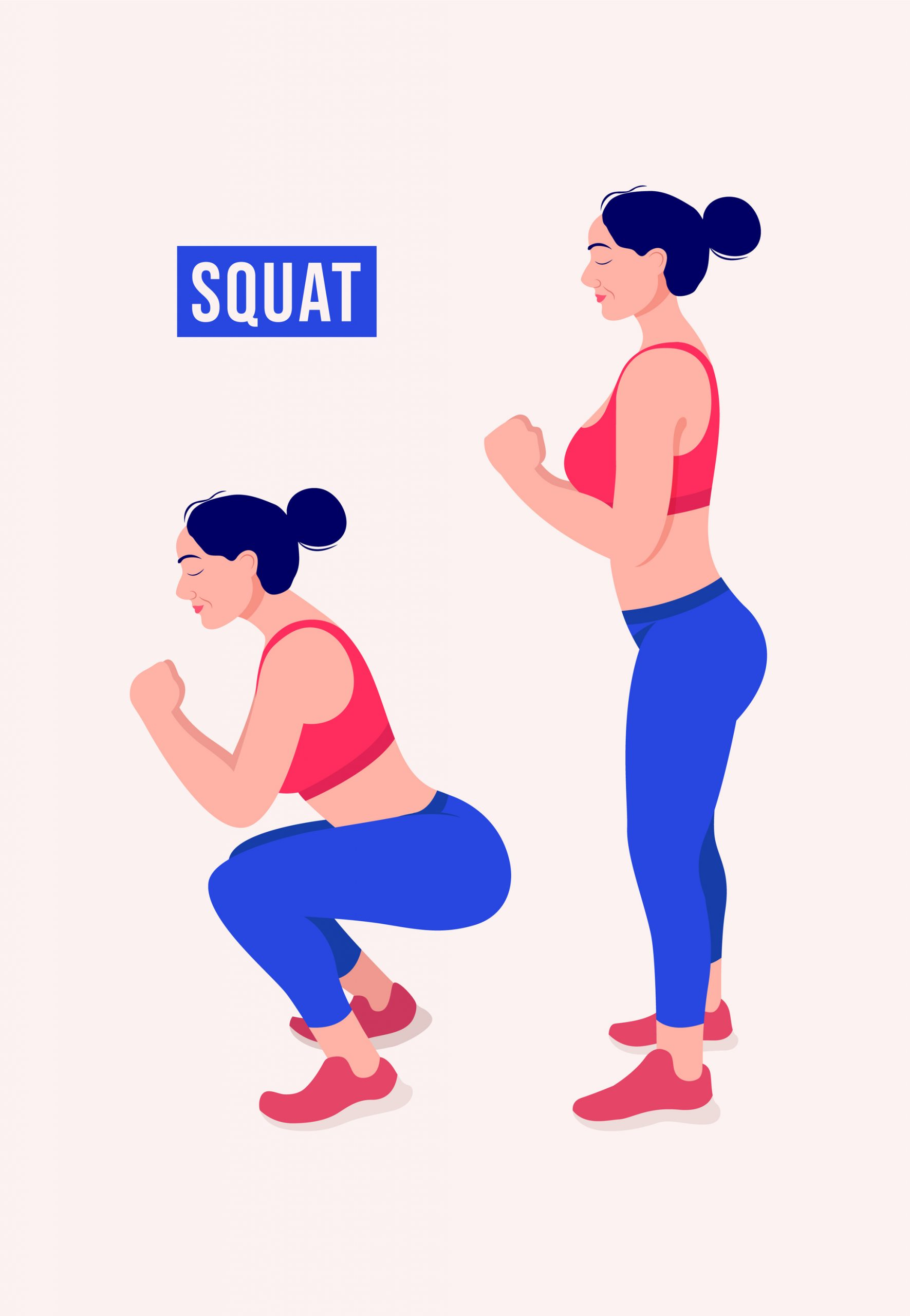 """Regardless of what the problem is, the answer is to """"Squat"""" - Persistence  Athletics"""